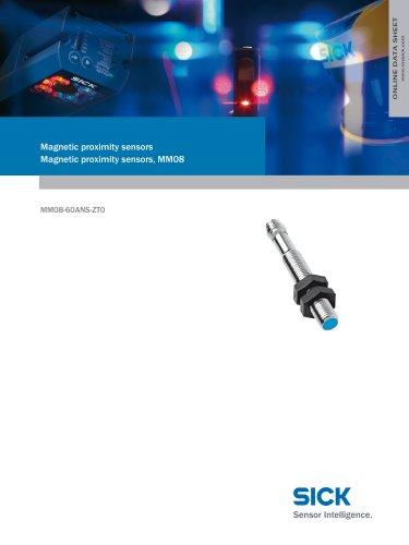 Magnetic proximity sensors Magnetic proximity sensors, MM08