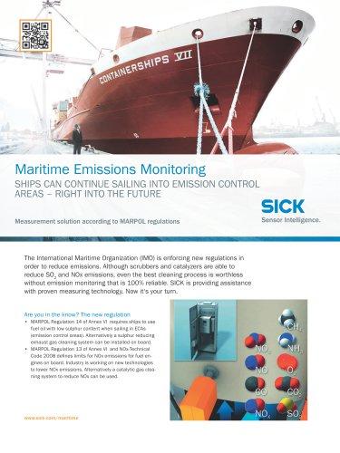 Maritime Emissions Monitoring