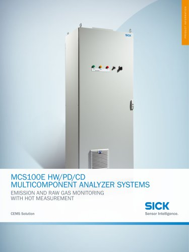 MCS100E HW/CD/PD Multicomponent Analysis