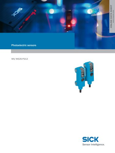 Miniature photoelectric sensors