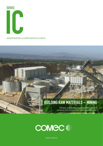 Comec-Binder Wastewater Clarification Plant IC