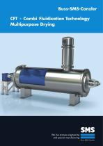 CFT - Combi Fluidization Technology Multipurpose Drying
