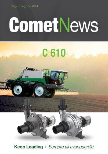 Comet News - C 610 H & HS