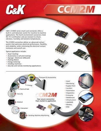 CCM2M product flyer