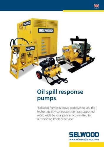 Oil spill response pumps