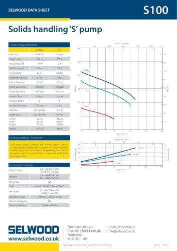 S100 data sheet