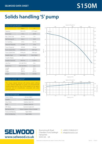 S150M data sheet