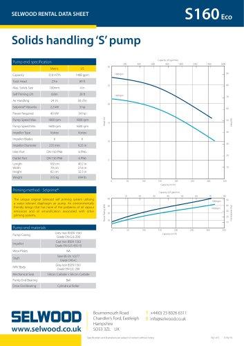 S160Eco data sheet