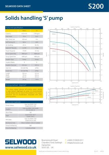 S200 data sheet