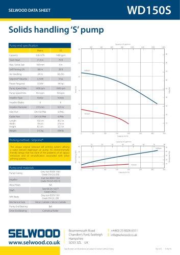 WD150S data sheet