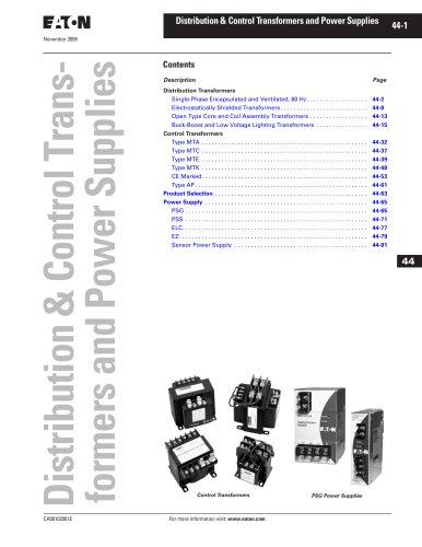 Eaton Power Supplies Catalog Supplement