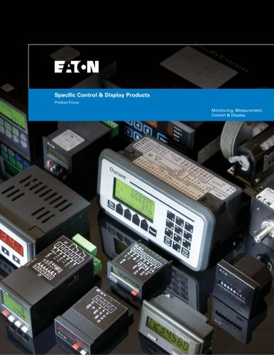 Specific Control & Display Products