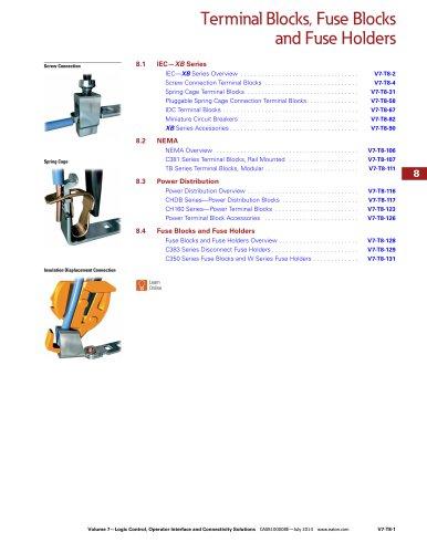 Terminal Blocks, Fuse Blocks and Fuse Holder