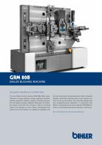 Flyer Bihler Bushing machine GRM 80B