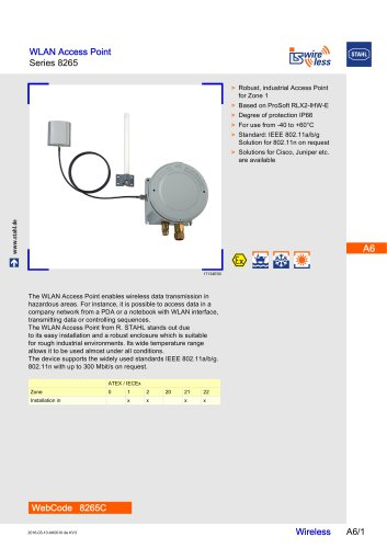 WLAN ACCESS POINT 8265