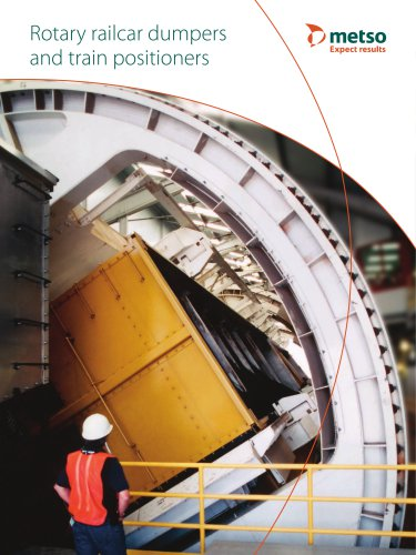 Rotary Railcar Dumpers and Train Positioners Brochure