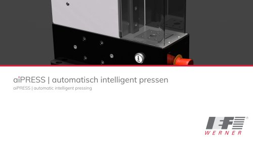 aiPRESS | automatic intelligent pressing