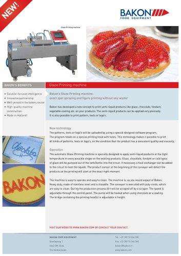Glaze Printing machine