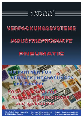 YOUR PARTNER FOR PACKAGING SOLUTIONS and accessories