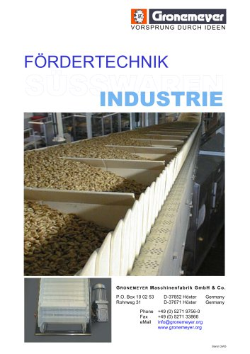 Sweets Industry