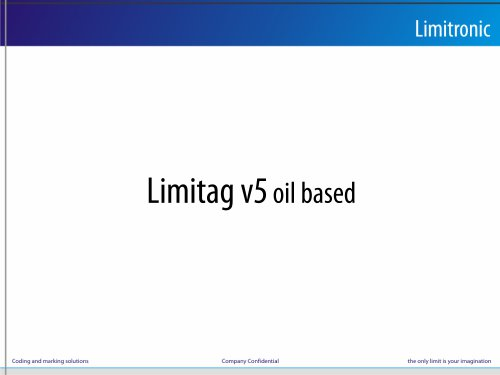 Limitag v5 oil based
