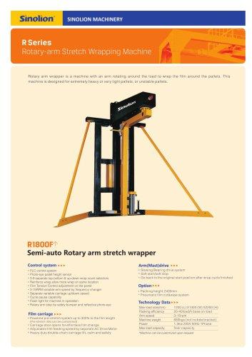 Sinolion  Rotary-Arm Stretch Wrapper R1800F