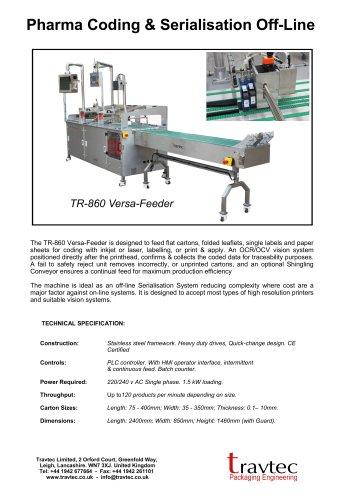 TR-860 Versa-Feeder