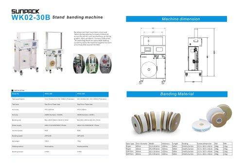 SUNPACK WK02-30B Stand paper banding machine