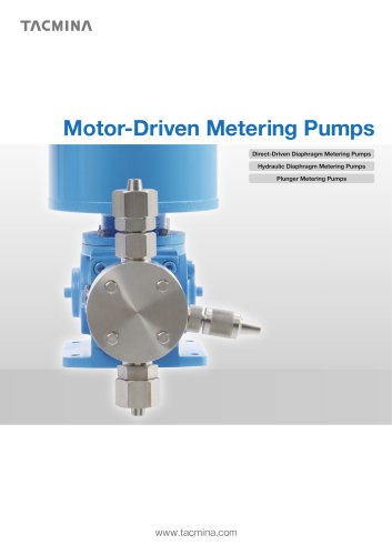 Motor-Driven Metering Pumps