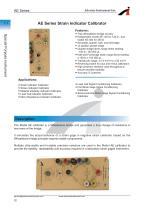 AE Series Strain Indicator Calibrator