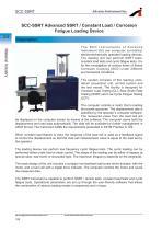SCC-SSRT Advanced SSRT_Constant Load_Corrosion Fatigue Loading Device