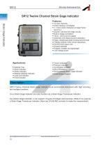 SR12 Twelve Channel Strain Gage Indicator