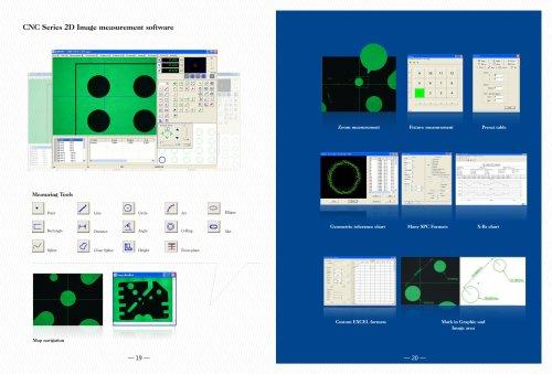 Automatic CNC metrology software