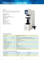 Brinell Hardness Tester HBS-3000