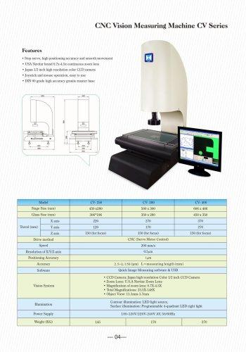 CV series CNC Video Measuring Machine