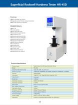 Digital Superficial Rockwell Hardness Tester HR-45D