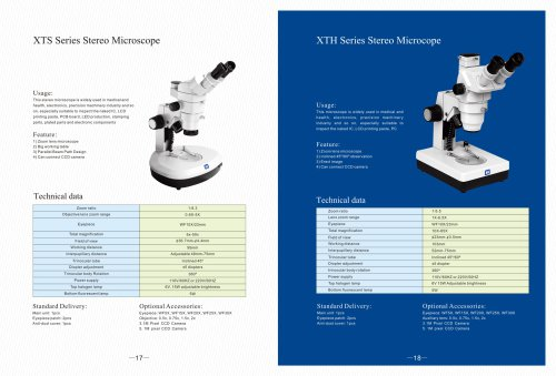 Industrial Microscopes pp 17-18