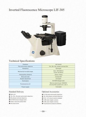 Inverted Fluorescence Microscope LIF-305