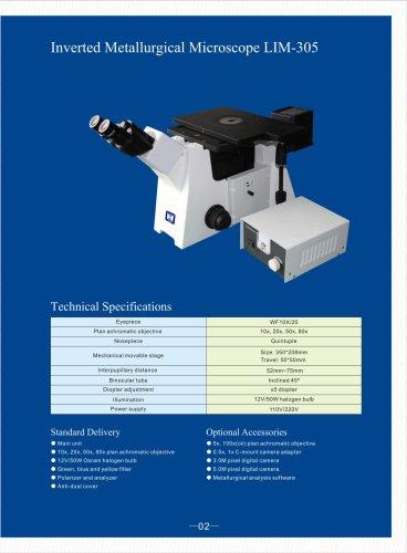 Inverted Metallurgical Microscope LIM-305