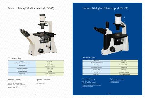 LIB series Inverted Biological Microscope