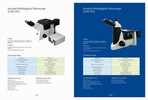 LIM series Inverted Metallurgical microscope