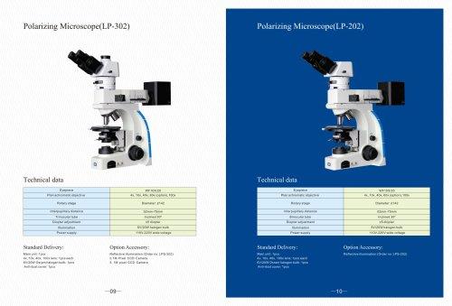 LP series Polarizing Microscope