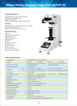 Macro-Vickers Hardness Tester HVS-30/50 series