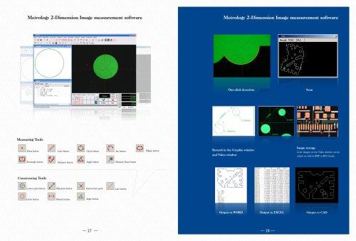 Manual 2D Measurement Software