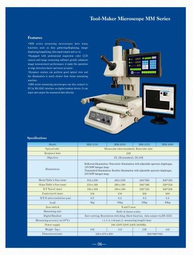 MM series Tool Maker Microscope