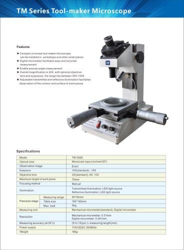 Toolmakers microscope TM-0505