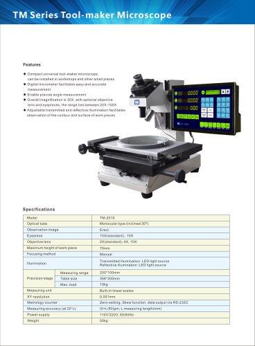 Toolmakers microscope TM-2010