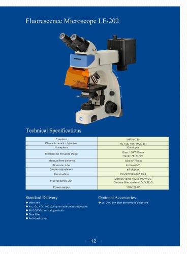 Upright Fluorescence Microscope LF-202