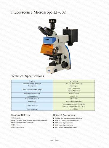 Upright Fluorescence Microscope LF-302